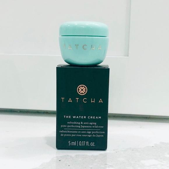Tatcha Makeup The Water Cream Travel Size 17 Fl Oz 5ml Poshmark